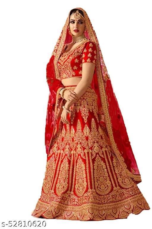 Designer fancy embroidered lehenga choli with blous & duptta