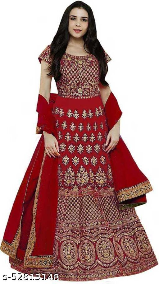 409 red Gown