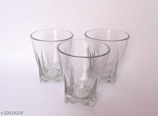 Crystal Glass (KANCH) set of 6 for serving juice Water