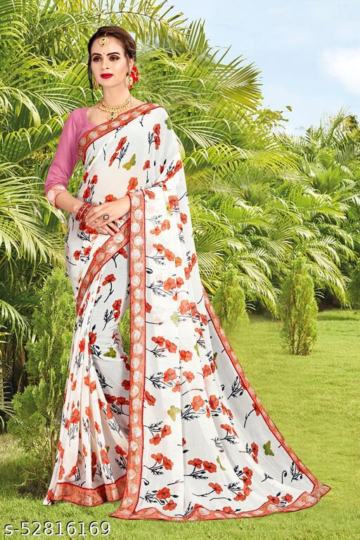 women's Saree for festive Navarati or Diwali Trendy