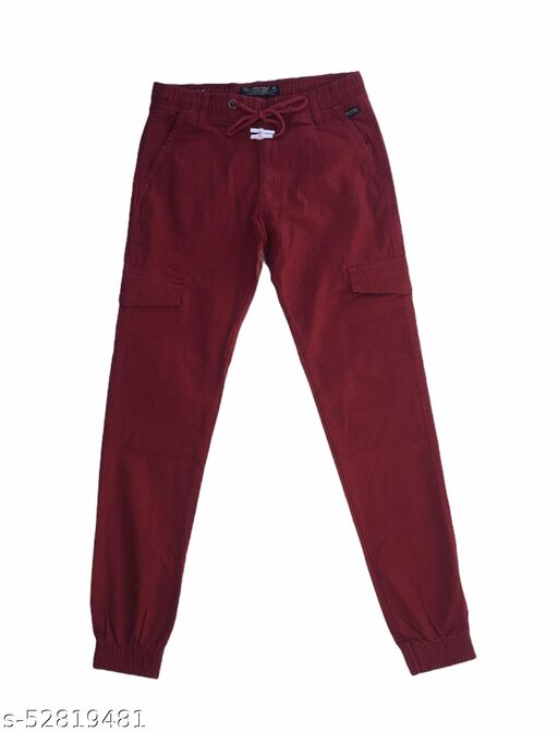 Men's Cotton Jogger pant in Cargo Style