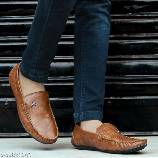 Fabulous Synthetic Leather Loafers for Men