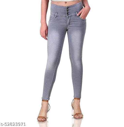FASHIONABLE EXCLUSIVE Skinny Women Grey Jeans
