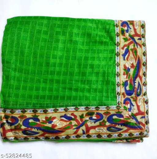 Fancy Green Saree