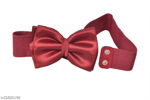 Formal, Party Maroon Synthetic Reversible Belt