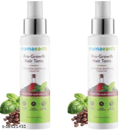 pack of 2(each100ml)-Mamaearth pro growth hair tonic