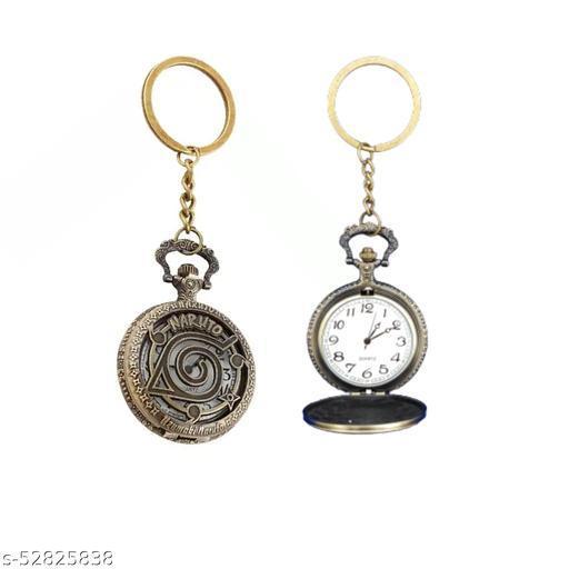 Merchant Bros Vintage Dad Embossed Clock Keychain, Metal Pocket Keyring | Best gift for Men, Dad, Grandfather