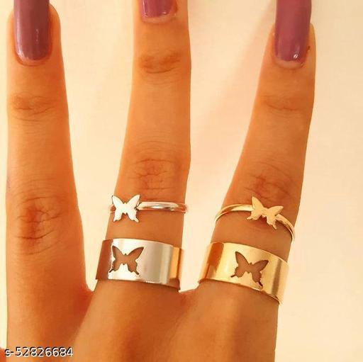 Shimmering Fancy Rings