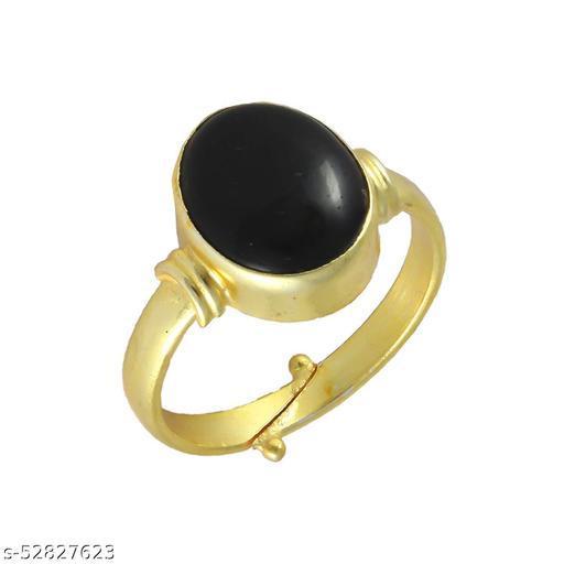 Sulemani Hakik Stone Panchdhatu Adjustable Ring for Women and Men