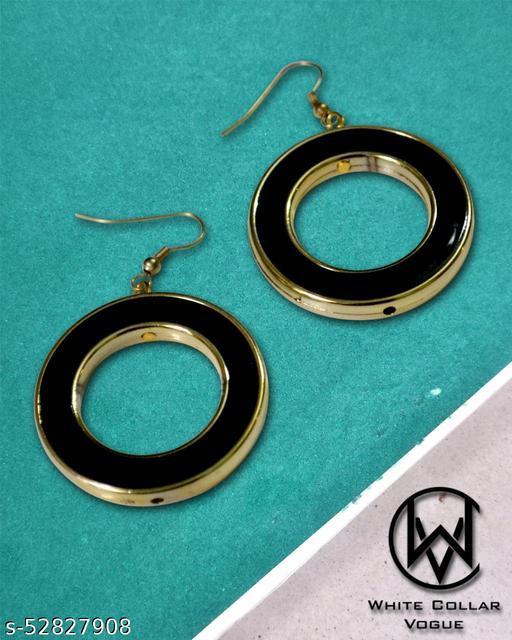 WCV Black Hook Earrings