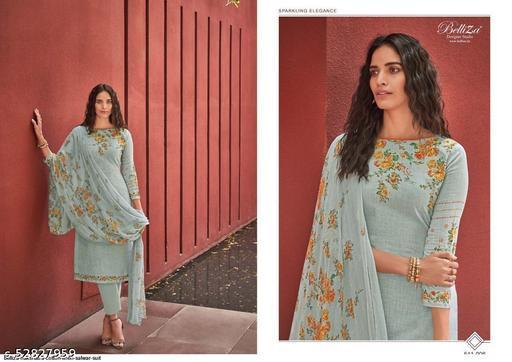 Elegant suit hub Belizza Nakshatra Grey