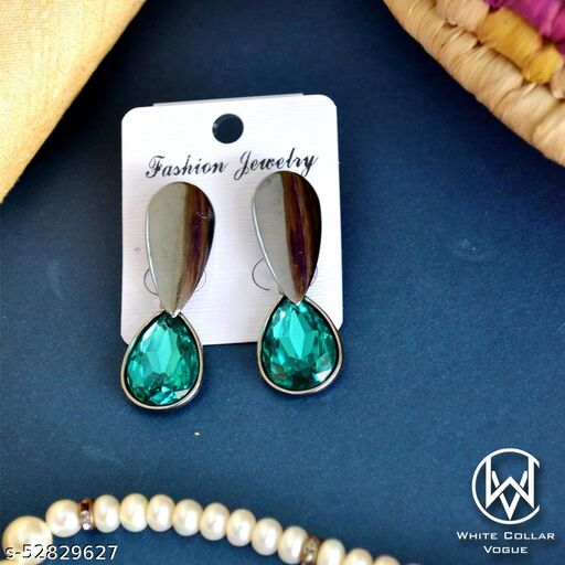 WCV Stone Drop Earrings