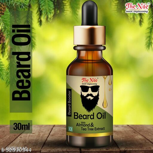 The Nile 100% Natural Beard Growth Oil- For Stimulating fast Beard Growth Hair Oil  (30 ml)