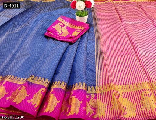 Patlani style presenting kanjivaram saree