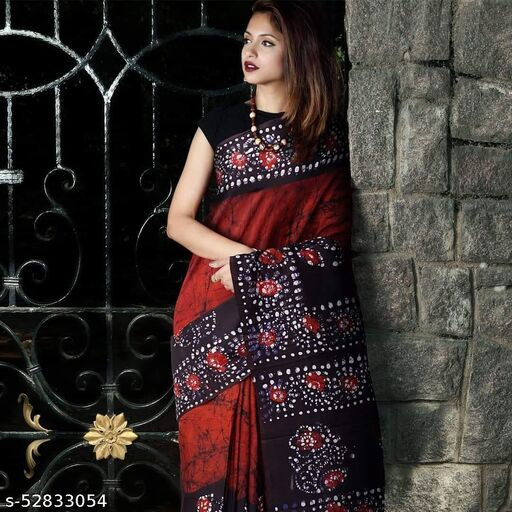 Manil'sPure cotton mulmul saree for women