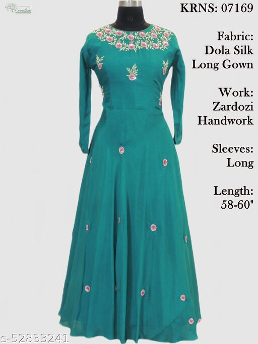 Dola Silk long gown