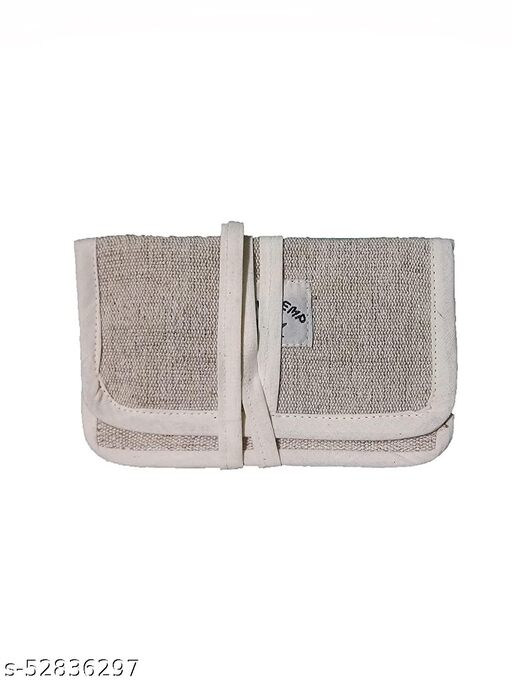 Pefrio Light Weight Eco-Friendly Travel Pouch for Small Items,