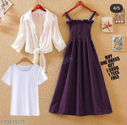 Waow Prix Dress Combo Set
