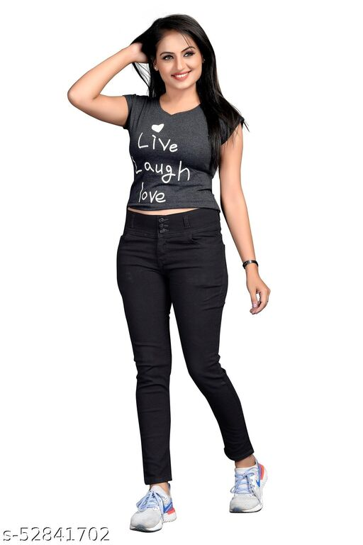 Denim Women's 3button Jeans