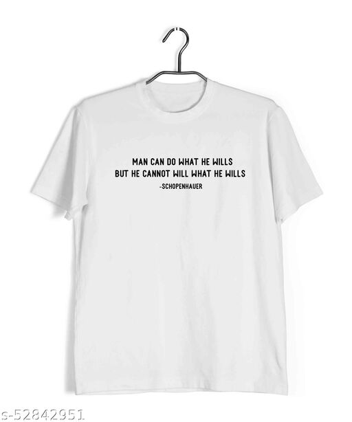 Aaramkhor Dark TV Series T-Shirt for Men  |  Man can do What he Wills, but he Cannot Will What he Wills  | TV Series