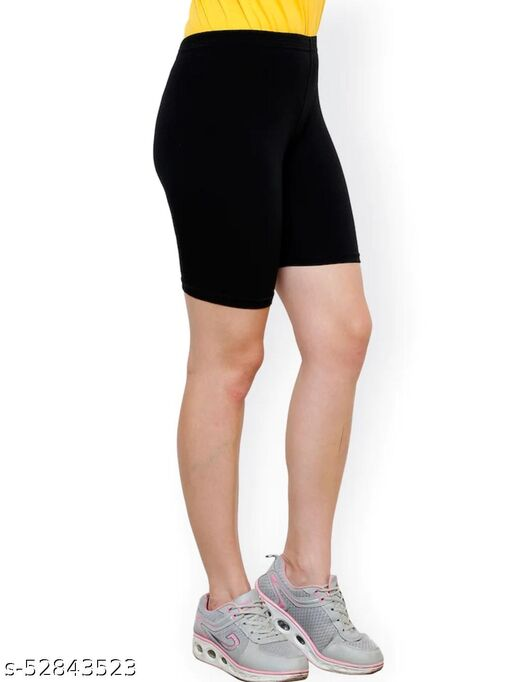 Womens Tights stretchable Shorts For Yoga,Gym, Swimming And Cycling Shorts(Pack of 1)