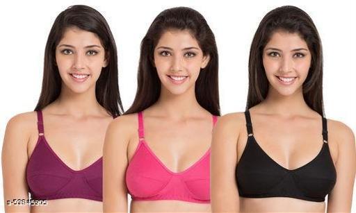 hoseiry bra , cotton , bra
