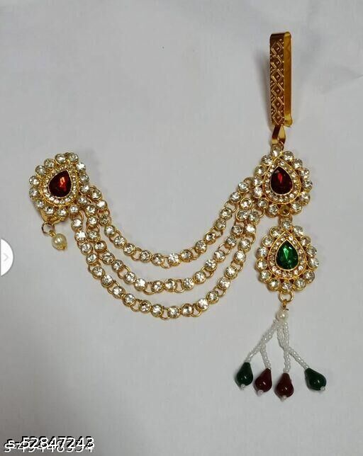 Zintalic  Kamar Bandh Gold Plated Belly Hips Chain Kamarbandh For Women
