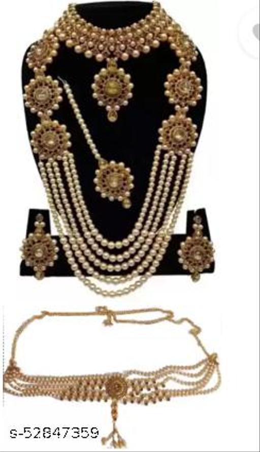 alloy jewel set gold (combo)