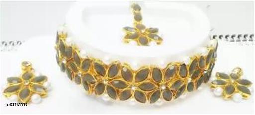 alloy jewel set(gold)...