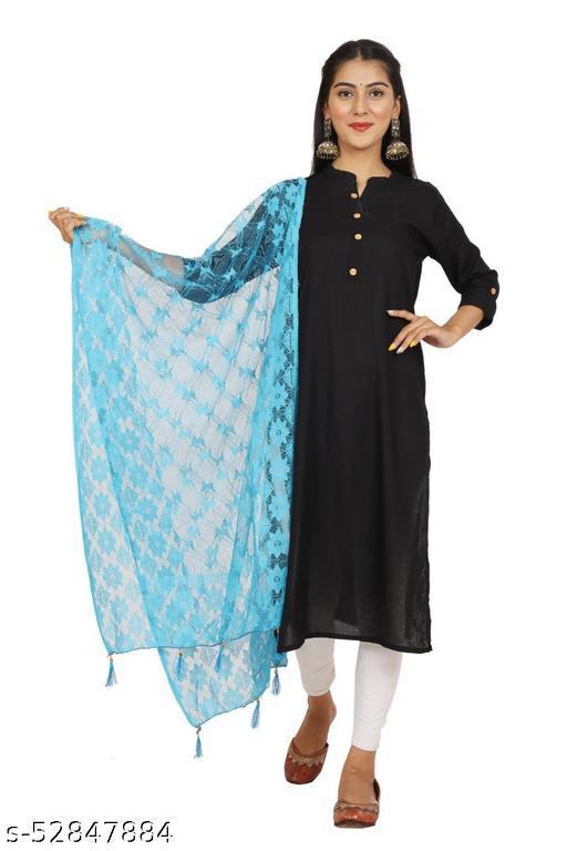 Ethnic Net Designer Women's Net Dupatta (Casual wear)