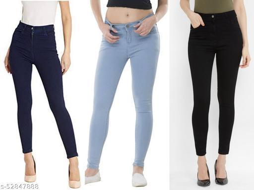 Womens Single button jeans
