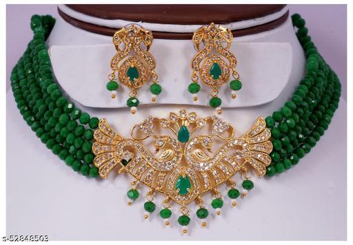 SB Jewellery- Peacock Set