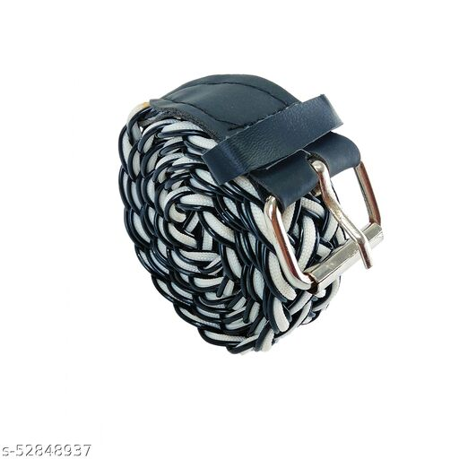 Trendy Women Belt with White and Black