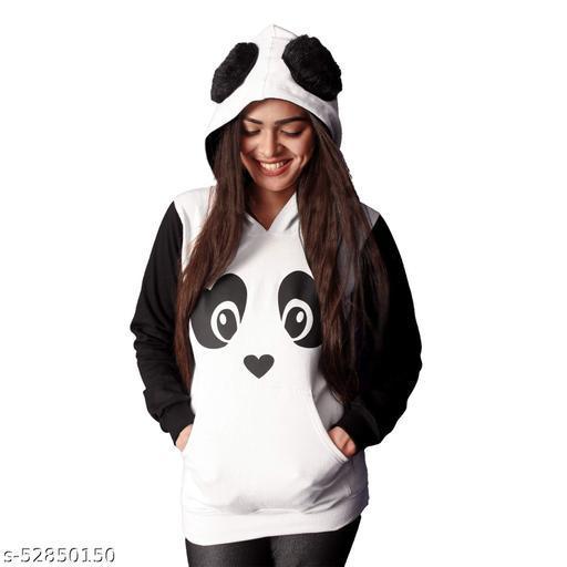 UKM STUNNING PANDA B&W Sweatshirts