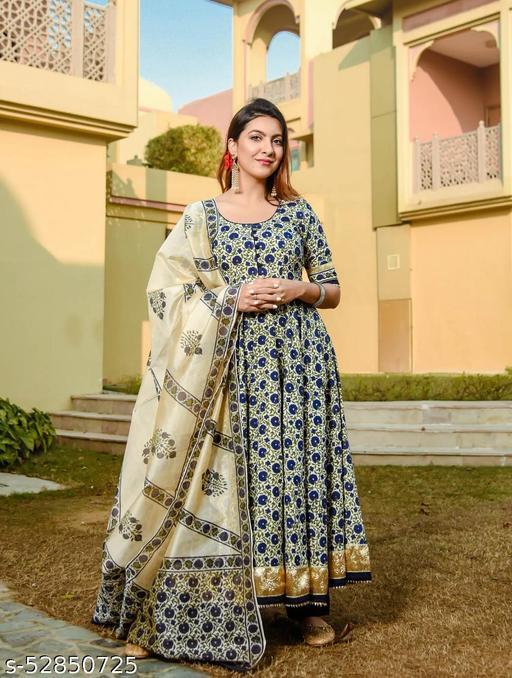 Women's Printed Kurta Set With DUPATTA MAHA PRICE DROP SALE