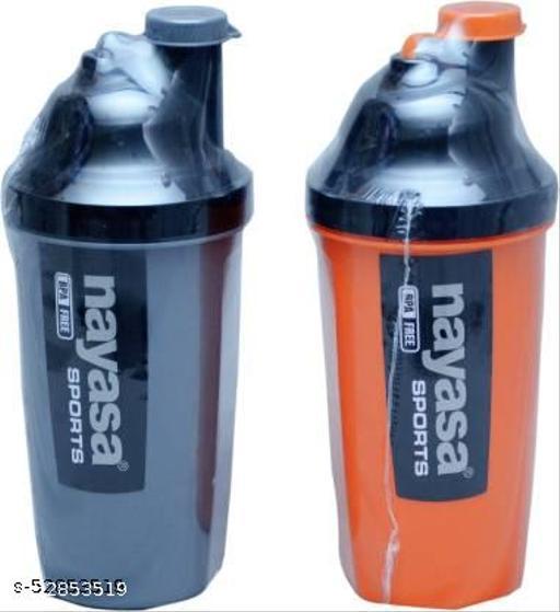 NAYASA SPORTS SHAKER 700 ml Shaker  (Pack of 2, Multicolor, Plastic)