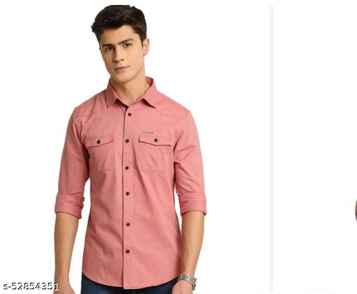 DUBULE POKET SLIM FIT Shirt