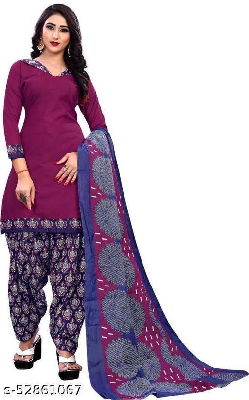 DHAVANIT un stitched dress material salwar suits Malticolor