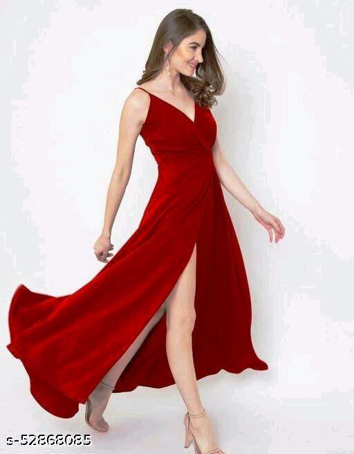 Stylish Women Cut maxi Dress