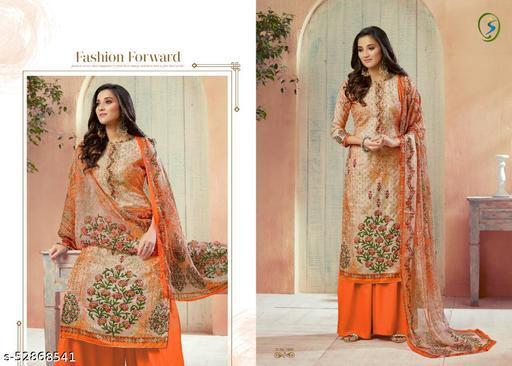 Aaria PAshmina digital print with Ari work with pure Duppta