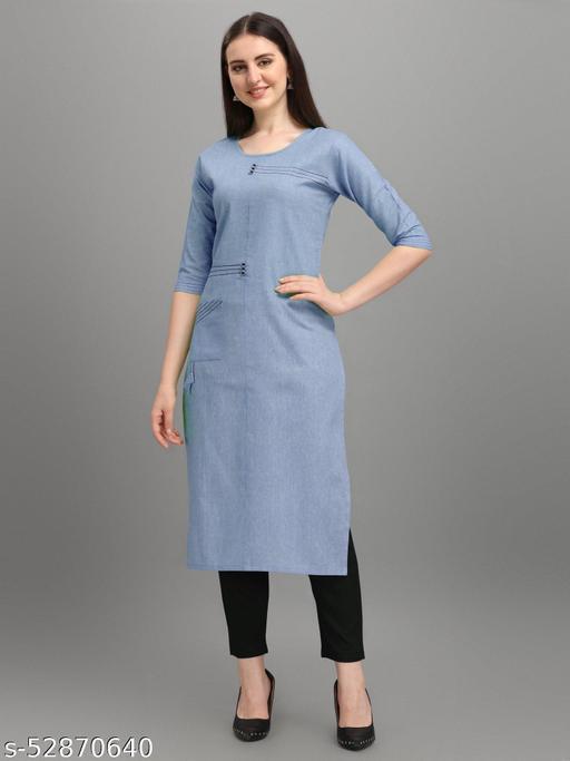 comfort simple cotton kurti
