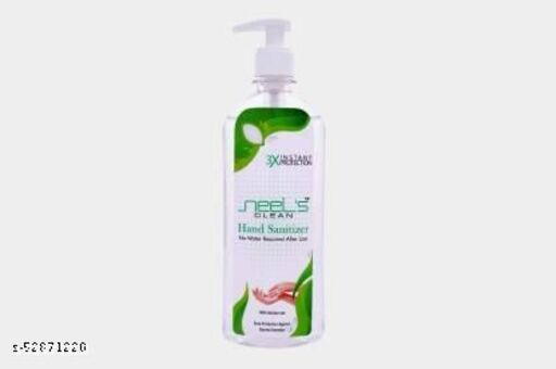 70% Alcohol Based Sanitizer, Kills Germs Instantly, Non Sticky, Gentle on Hand