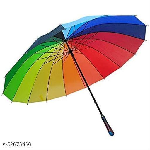 colorful rainbow umbrella