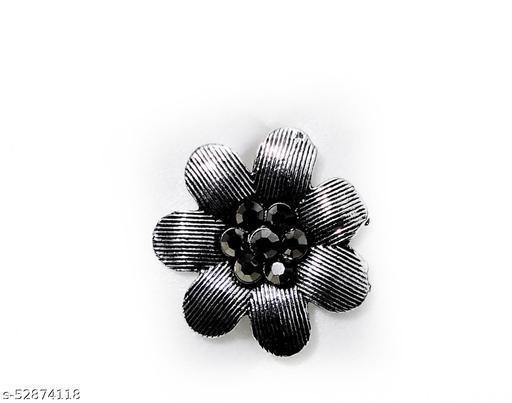 oxidised finger rings