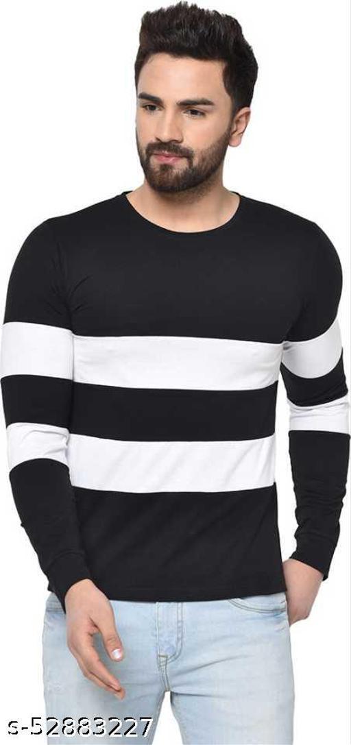Pagalpan Solid Men Round Neck Black T-Shirt