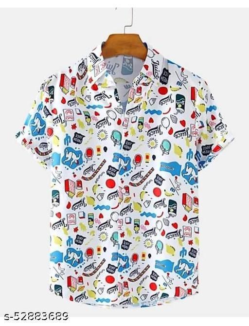 Classic Vouge Men's Magic Cotton Casual Half Sleeve Shirt