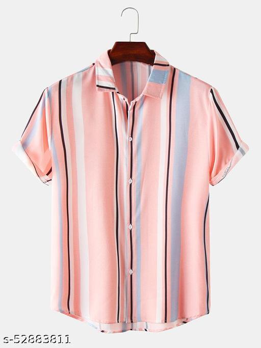 Designer Glamorus Men Half Sleeve Shirt  (Ready-Made)