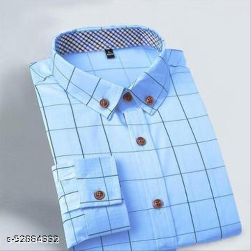 Classy Men's Premium Cotton Casual Full Sleeve Shirt