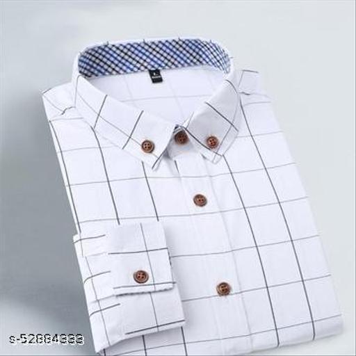Stylish Glamorus Men Full Sleeve Shirt  (Ready-Made)