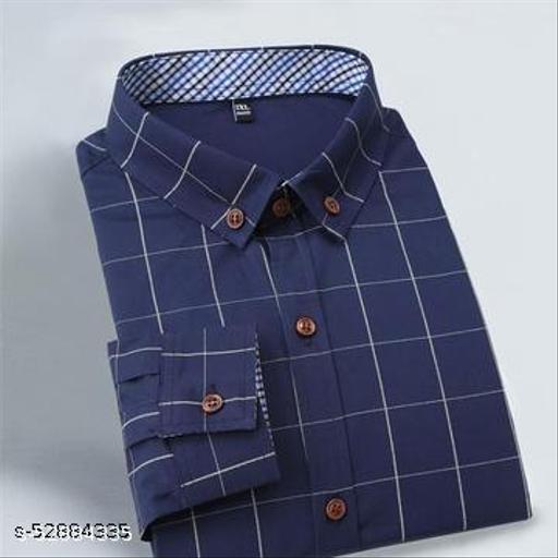 Trendy Designer Men Full Sleeve Shirt (Ready-Made)